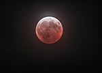 Mid-totality Lunar Eclipse Sunday January 20, 2019