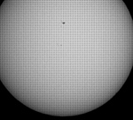 Mercury transit May 9, 2016 at the end