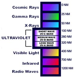 color spectrum essay The wave nature of light was first  the frequency of a light wave is related to its color  a graph of relative intensity vs frequency is called a spectrum.