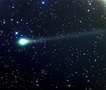 Comet Panstarrs on May 23, 2020